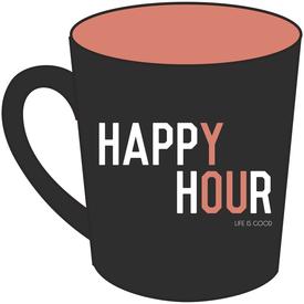 Everyday Mug, Happy Hour, Night Black