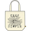 Recycled Tote, Keep It Simple Daisy