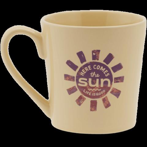 Everyday Mug, Here Comes the Sun. Happy Yellow