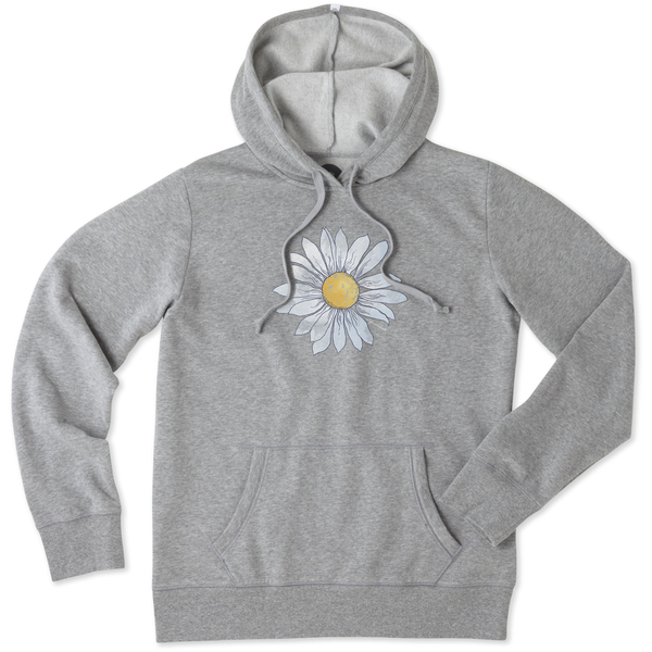Life is Good Womens Go-To Hoodie, Daisy