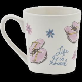 Everyday Mug, LIG Flip Flops, Cloud White