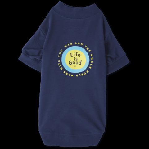 Dog T-Shirt, Life is Good