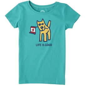 Life is Good Girls Crusher Tee, LIG Canada