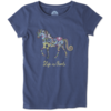 Girls Crusher Tee, Horse