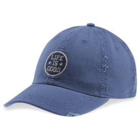 Sunwashed Chill Cap, Life is Good, Vintage Blue
