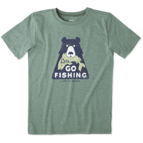 Boys Cool Tee, Let's Go Fishing