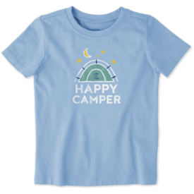 Toddler Crusher Tee, Happy Camper