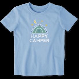 Toddler Crusher Tee, Happy Camper