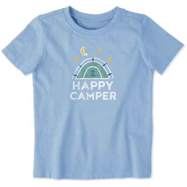 Toddler Crusher Tee Happy Camper