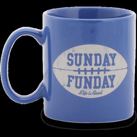 Jake's Mug, Sunday Funday, Darkest Blue