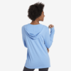 Womens L/S Hooded Tee, Namaste