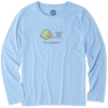 Womens Cool L/S Tee Bed & Breakfast Camp