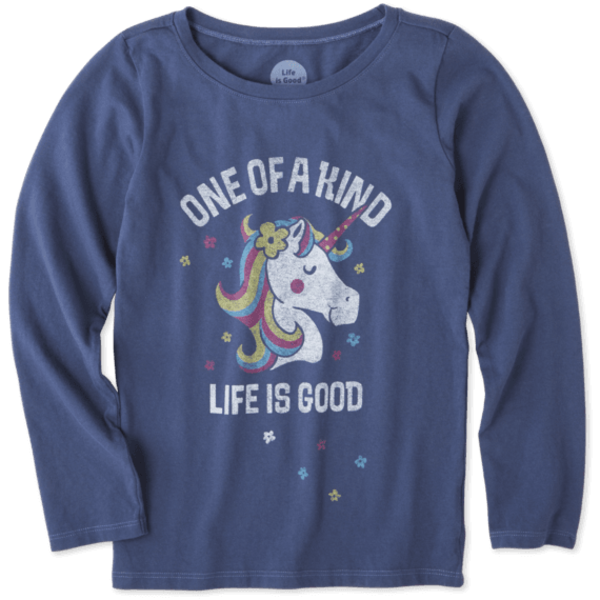 Life is Good Girls Crusher T-Shirt