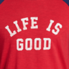Men's VIntage Baseball L/S Life is Good