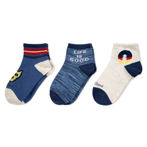Boys 3-Pack Socks, Rocket