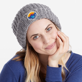Life is Good Slouchy Beanie, Life is Good, Heather Grey