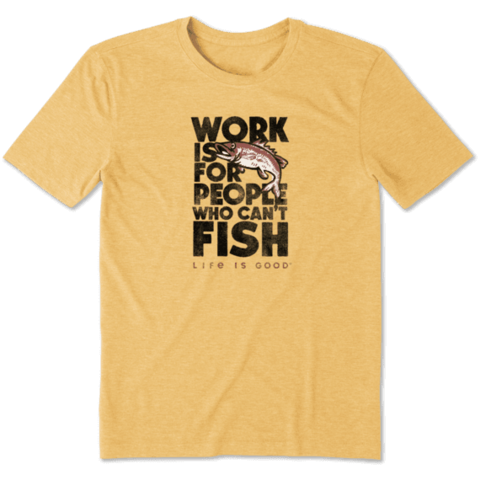 Men's Cool Tee, Work is for People