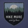 Men's Cool Tee, Hike More, Worry Less