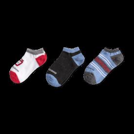 Life is Good Boys 3-Pack Low Cut Socks, PB & J