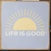 Wooden Sign, LIG Sun