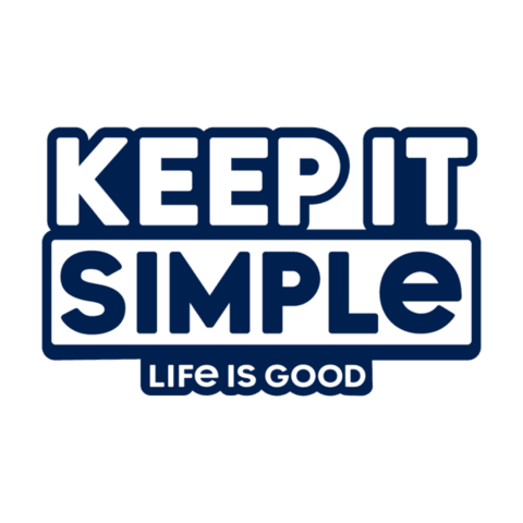 Die Cut Decal, Keep it Simple