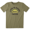 Boys Cool Tee Life is Good with Tacos