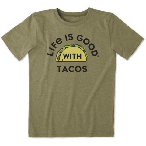 Boys Cool Tee, LIG with Tacos