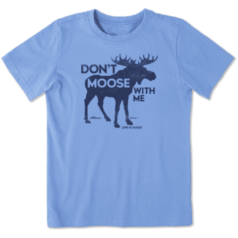 Boys Crusher Tee, Don't Moose with Me