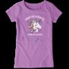 Girls Crusher Tee, One of a Kind Unicorn