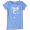 Girls Crusher Tee Dream Big Moon & Stars