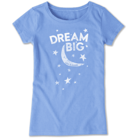 Girls Crusher Tee, Dream Big