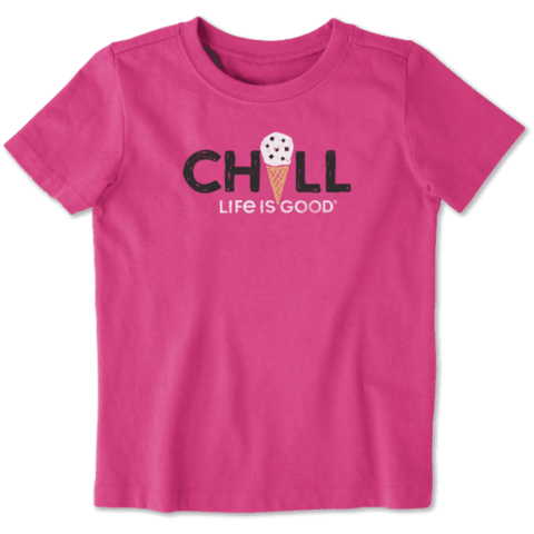 Toddler Crusher Tee, Chill Ice Cream