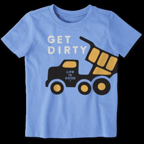 Toddler Crusher Tee, Get Dirty