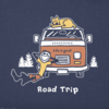 Men's Crusher Tee, Vintage Road Trip