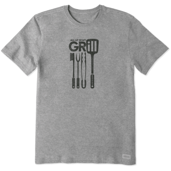 Men's Crusher Tee, All Up In My Grill