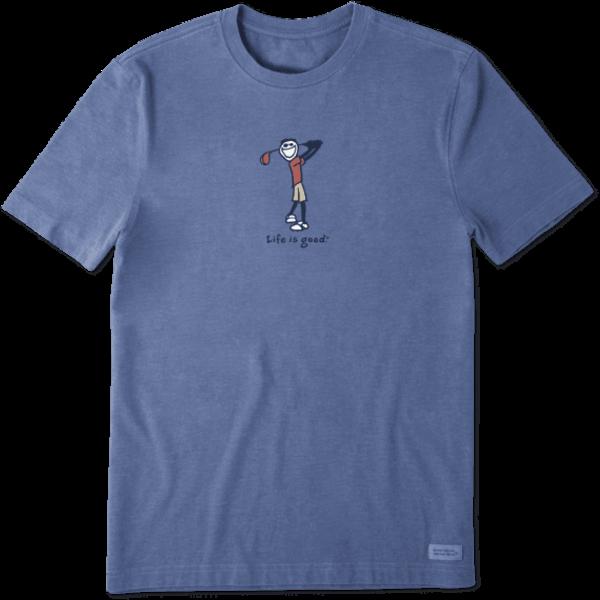 Men's Crusher Tee, Vintage Jake Golf
