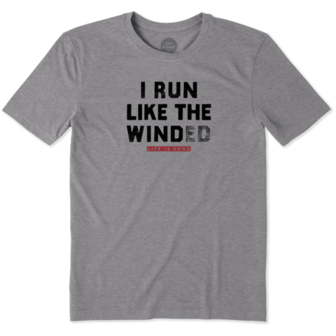 Men's Cool Tee, Run Like Winded