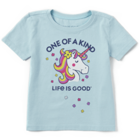 Toddler Crusher Tee, One of a Kind Unicorn