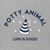 Toddler Crusher Tee, Potty Animal