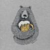 Men's Crusher Tee, Beer Hug Sketch