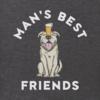 Men's Crusher L/S Tee Bark & Beer