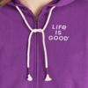 Womens Simply True Zip Hoodie, Moon Scenic