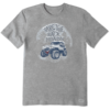 Men's Crusher Tee, Winter Back Roads