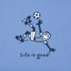 Boys Crusher Tee, Vintage Jake Kick Soccer