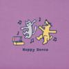 Girls Crusher Tee, Happy Dance