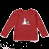 Toddler Crusher L/S Tee LIG Snowman