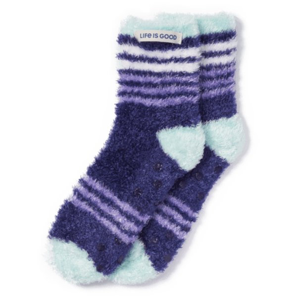 Womens Feathersoft Socks, Stripes