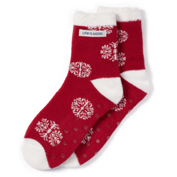 Double Snuggle Socks Holiday Ornament