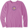 Womens Crusher L/S Tee Vintage Be the Person