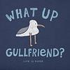 Womens Crusher Tee What Up Gullfriend
